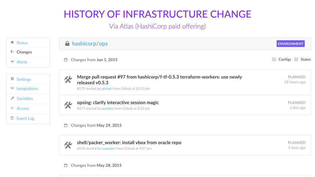 HISTORY  OF  INFRASTRUCTURE  CHANGE Via  Atlas ...
