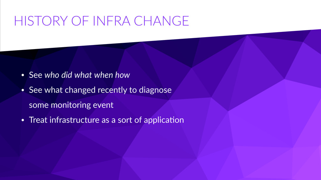HISTORY  OF  INFRA  CHANGE • See  who  did  wha...