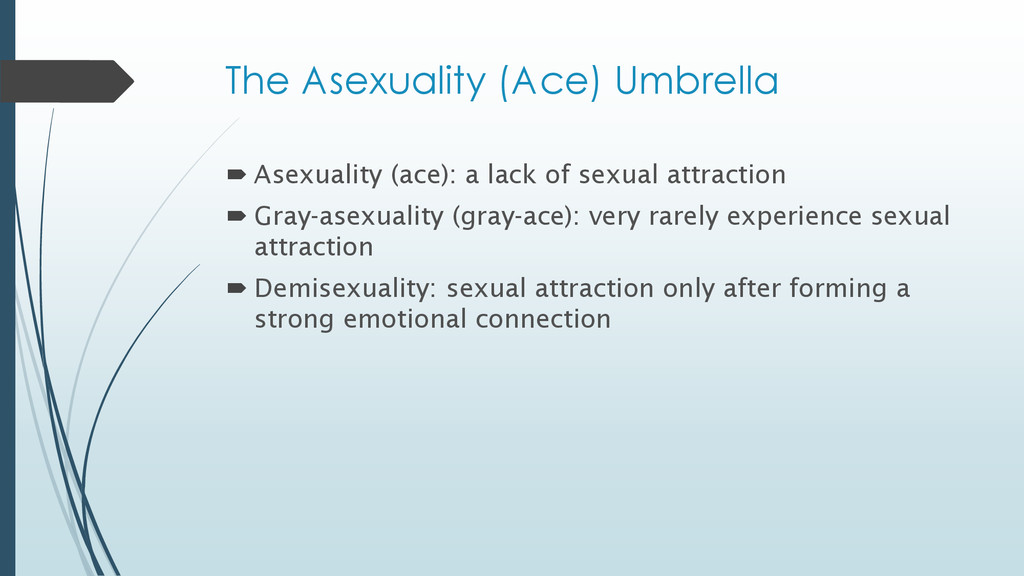The Asexuality (Ace) Umbrella  Asexuality (ace...