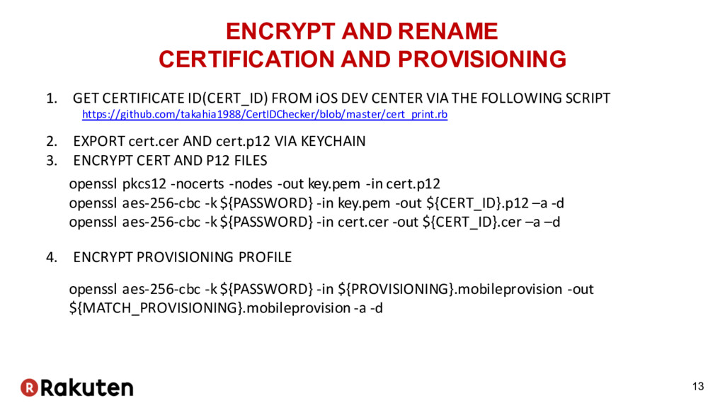 ENCRYPT AND RENAME CERTIFICATION AND PROVISIONI...