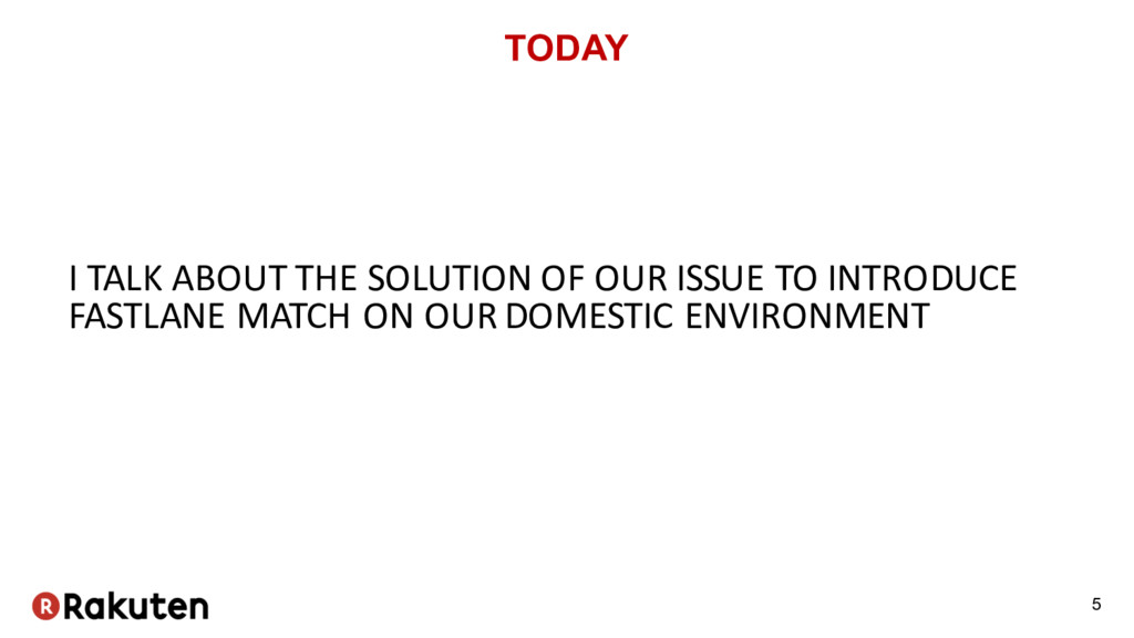TODAY I TALK ABOUT THE SOLUTION OF OUR ISSUE TO...