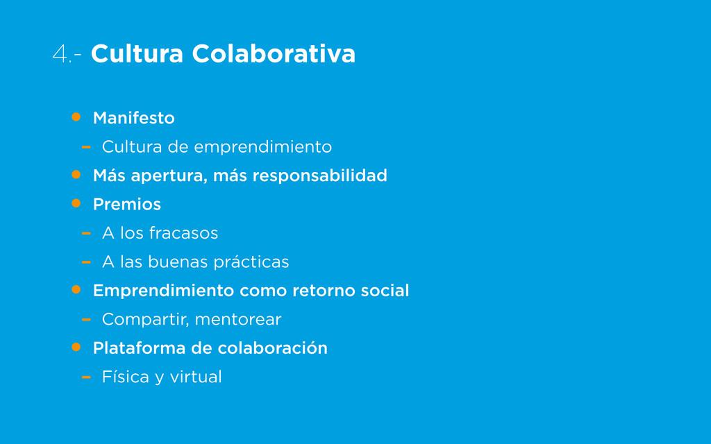 4.- Cultura Colaborativa • Manifesto - Cultura ...