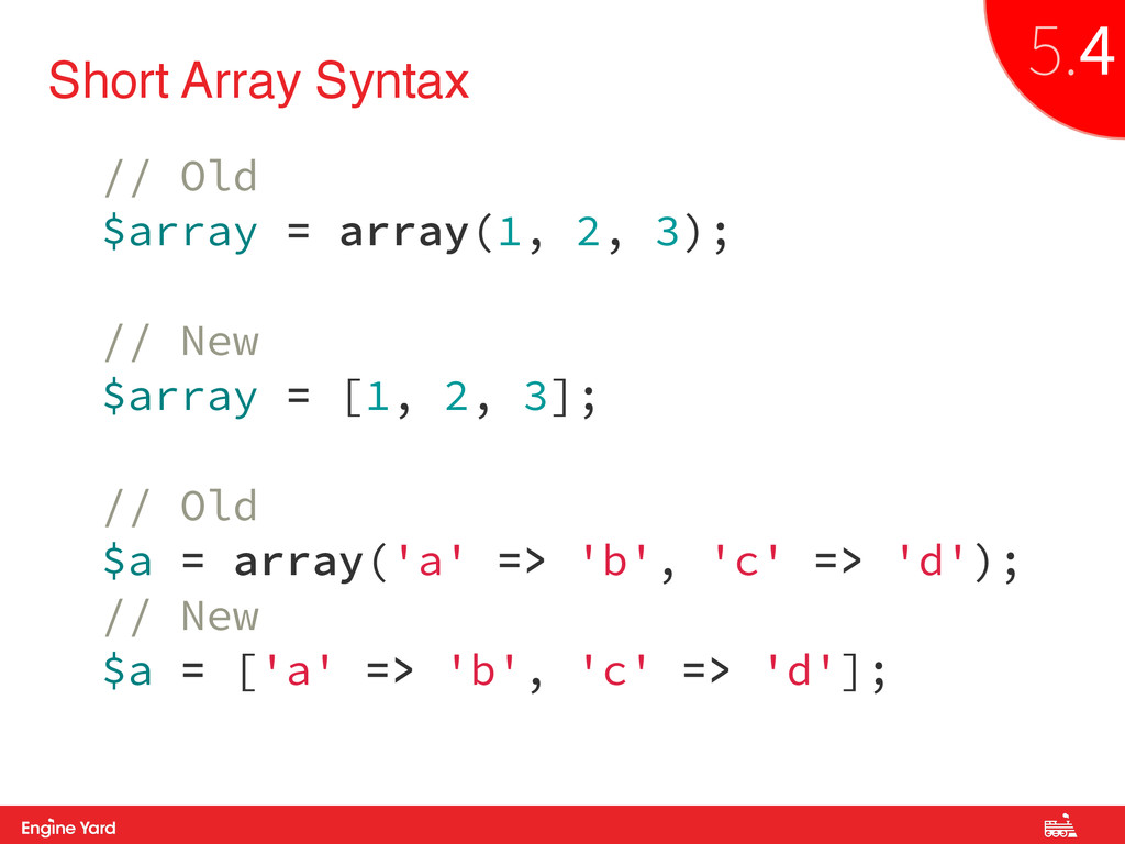 Proprietary and Confidential Short Array Syntax...