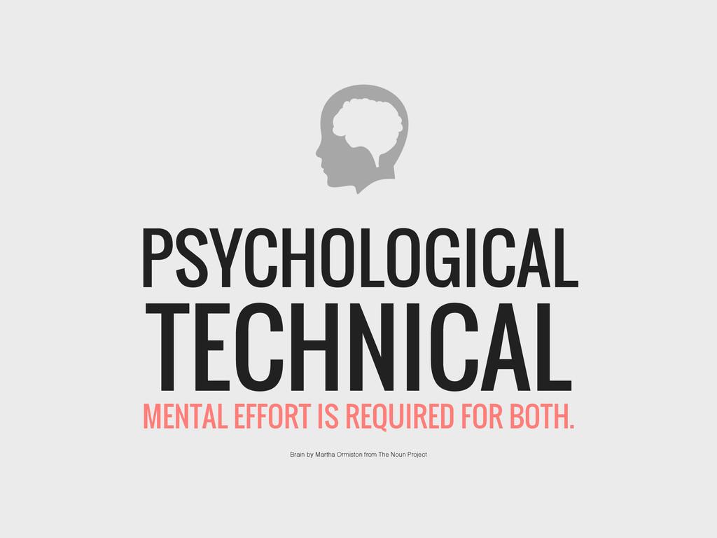 TECHNICAL PSYCHOLOGICAL Brain by Martha Ormisto...