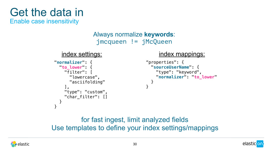 """Get the data in 30 Enable case insensitivity """"n..."""