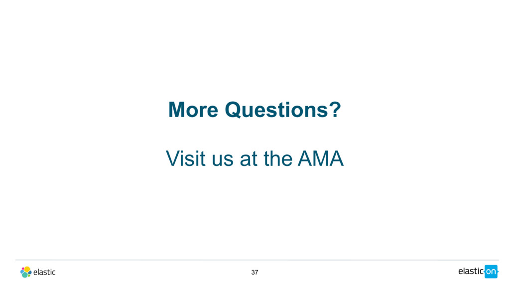 37 More Questions? Visit us at the AMA