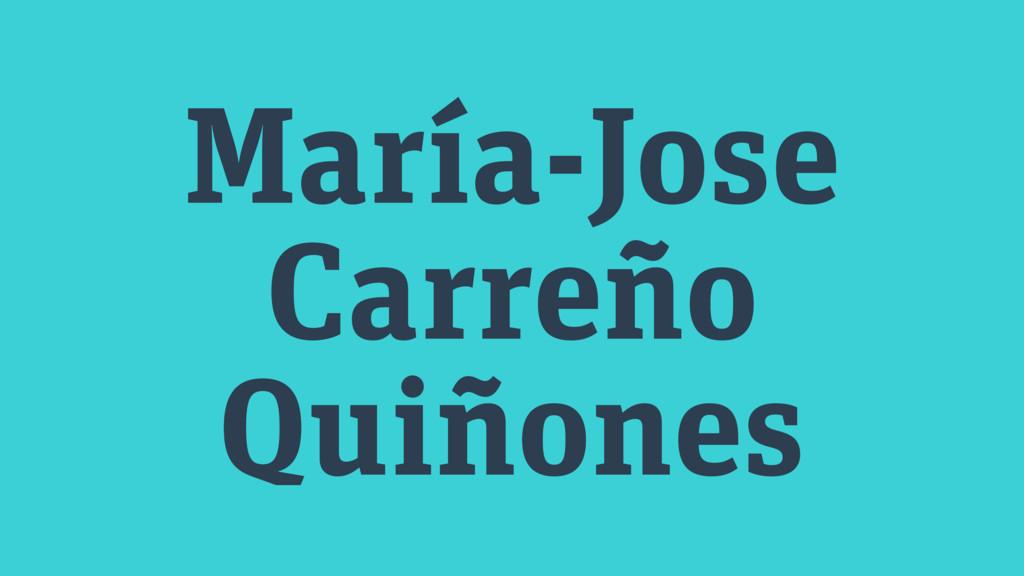 María-Jose Carreño Quiñones