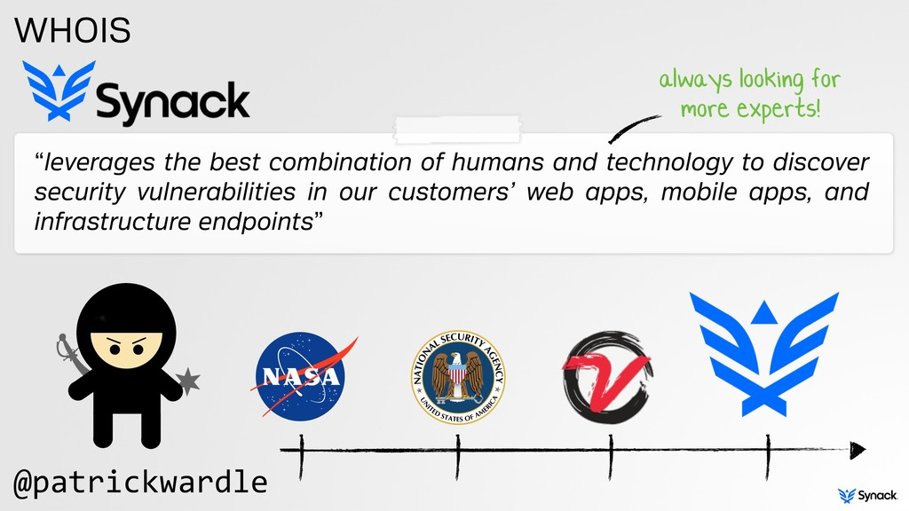 """""""leverages the best combination of humans and t..."""