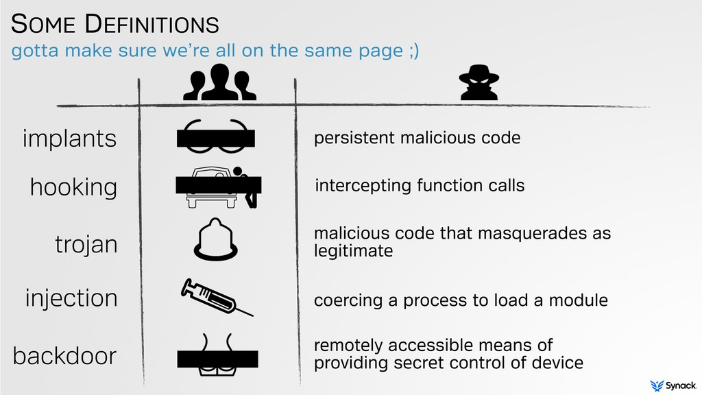 implants backdoor remotely accessible means of ...