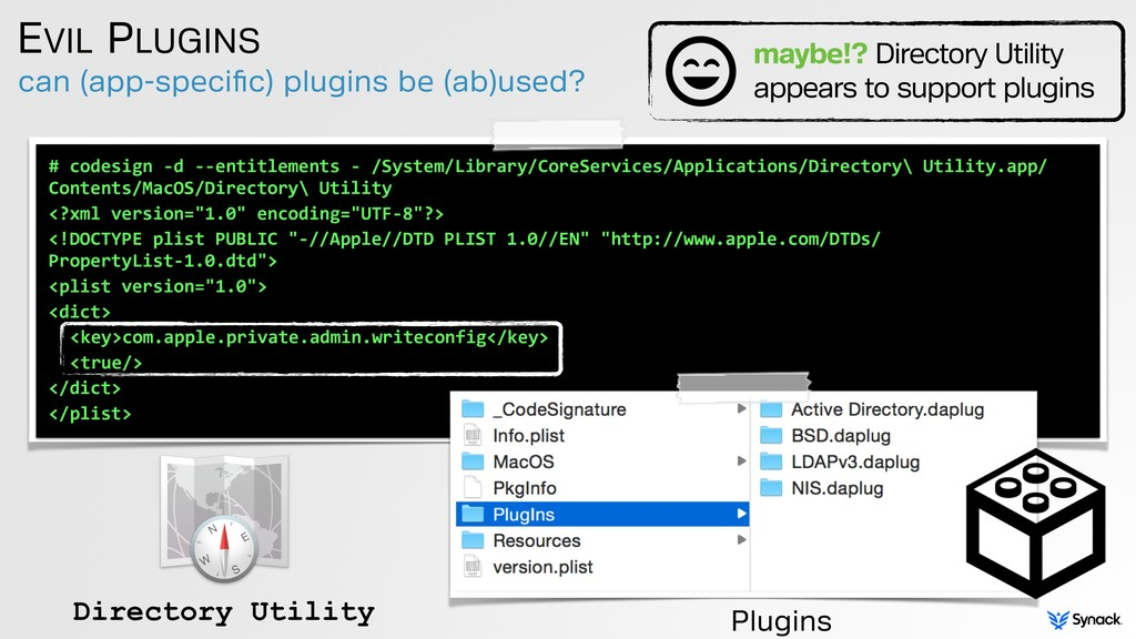 can (app-specific) plugins be (ab)used? EVIL PLU...