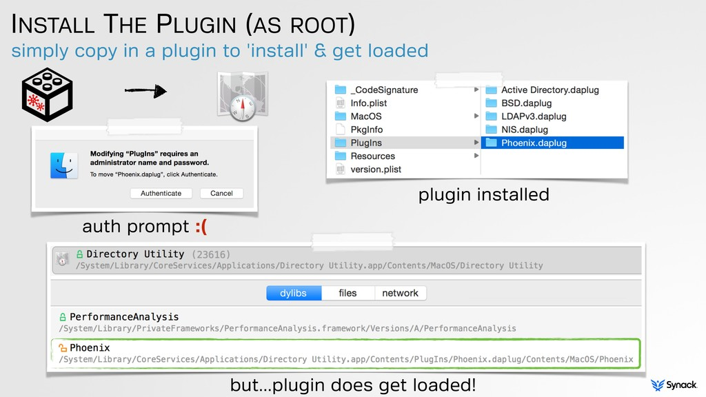 simply copy in a plugin to 'install' & get load...