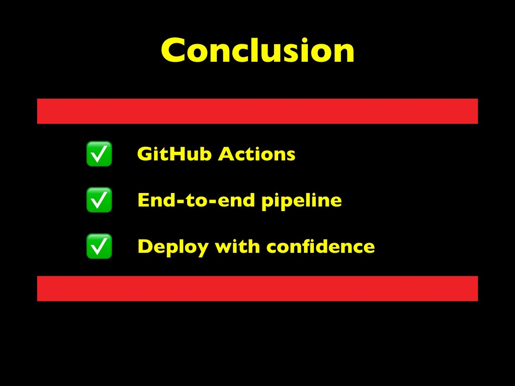 GitHub Actions End-to-end pipeline Deploy with ...