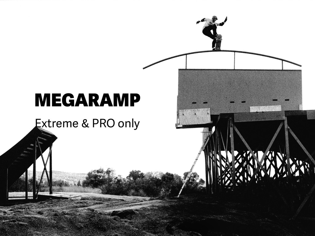 MEGARAMP Extreme & PRO only