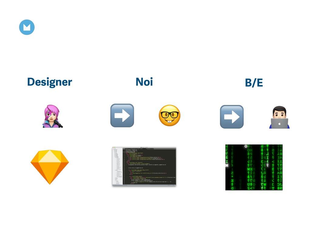 $ Noi B/E Designer ➡ & ➡