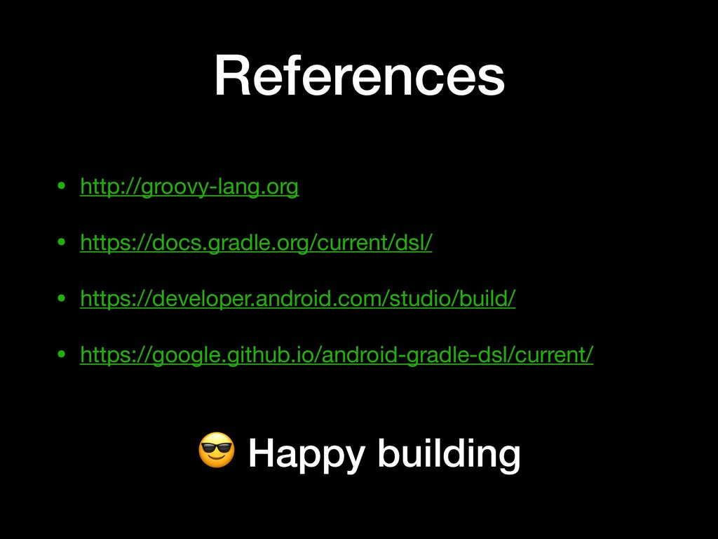 References • http://groovy-lang.org  • https://...