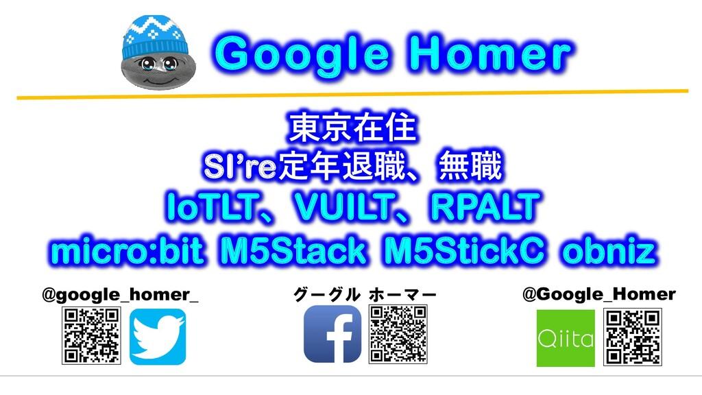 東京在住 SI're定年退職、無職 IoTLT、VUILT、RPALT micro:bit M...