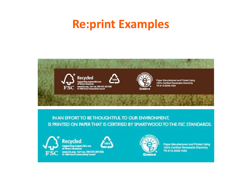 Re:print Examples