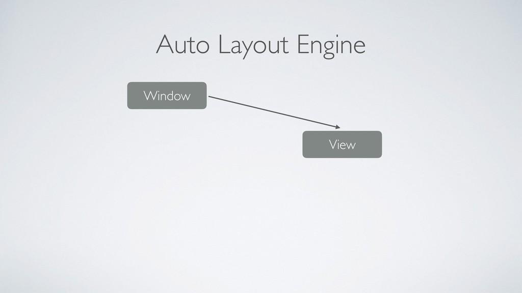 Auto Layout Engine Window View