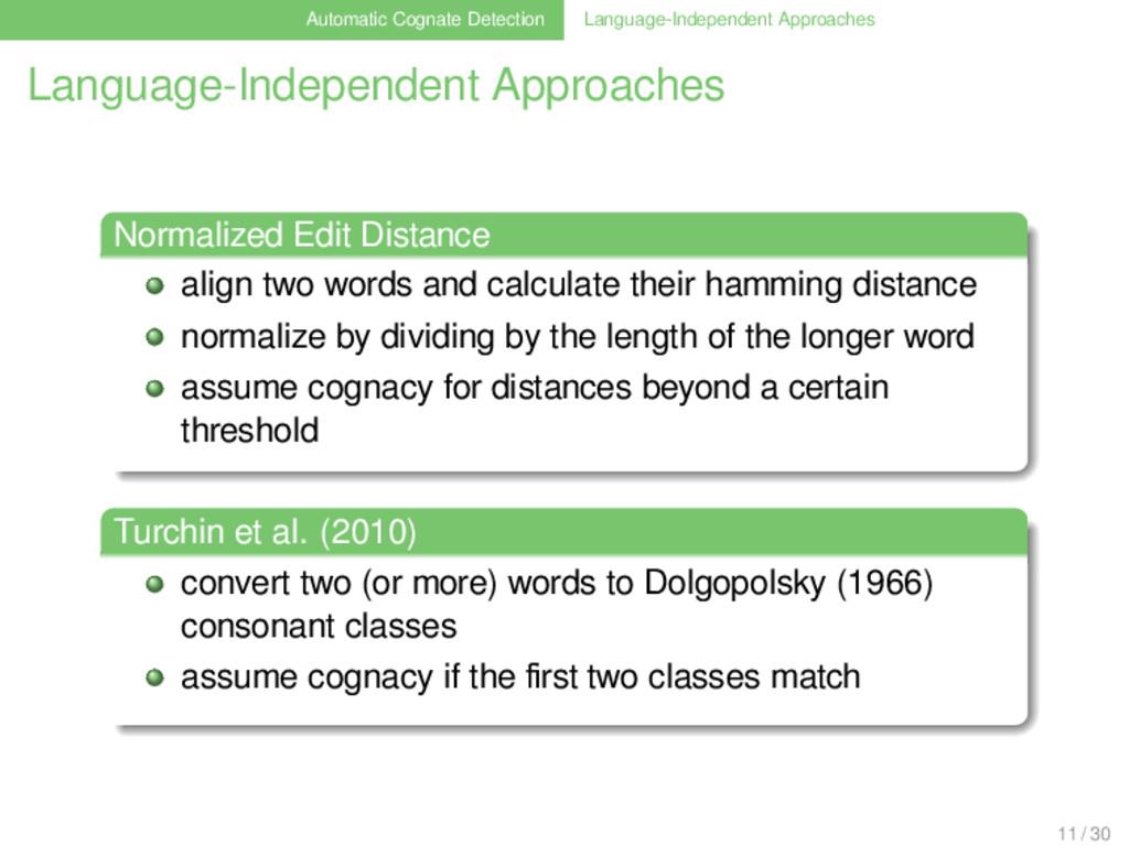 Automatic Cognate Detection Language-Independen...