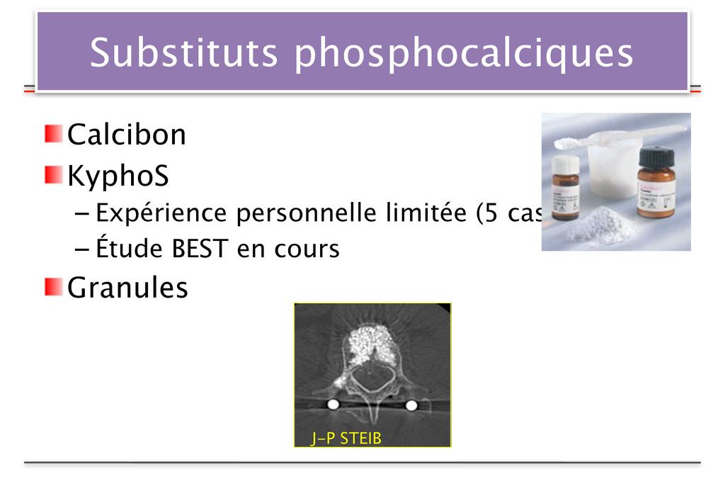 Substituts phosphocalciques Calcibon KyphoS – E...