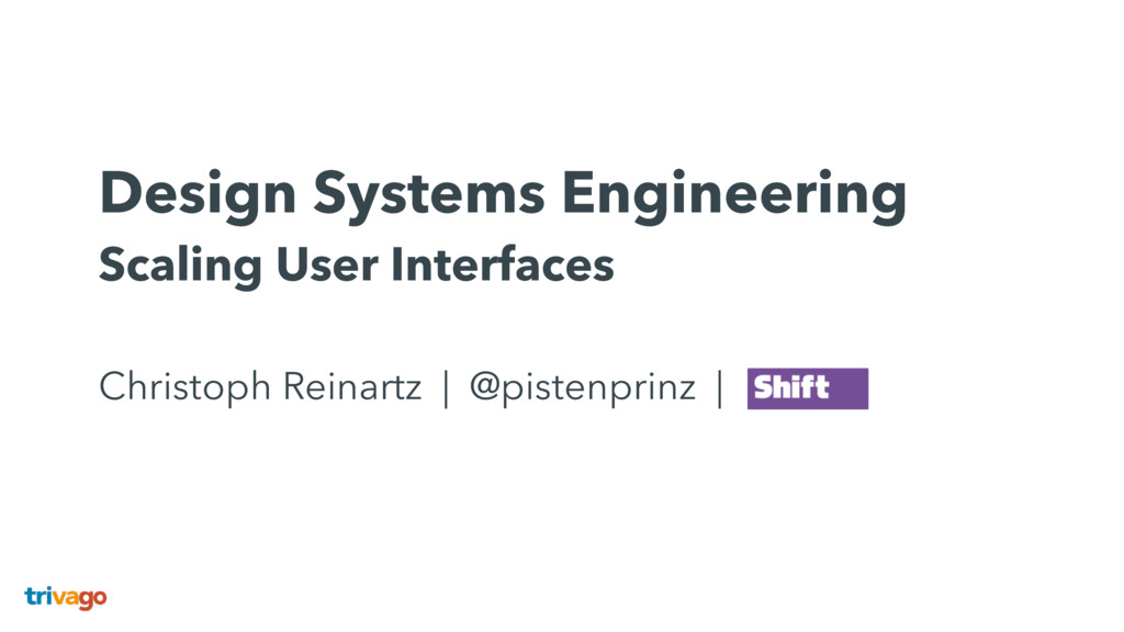 Design Systems Engineering Scaling User Interf...