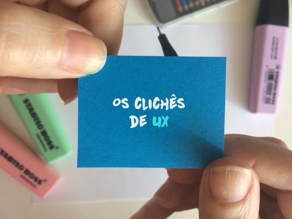 Os clichês de UX