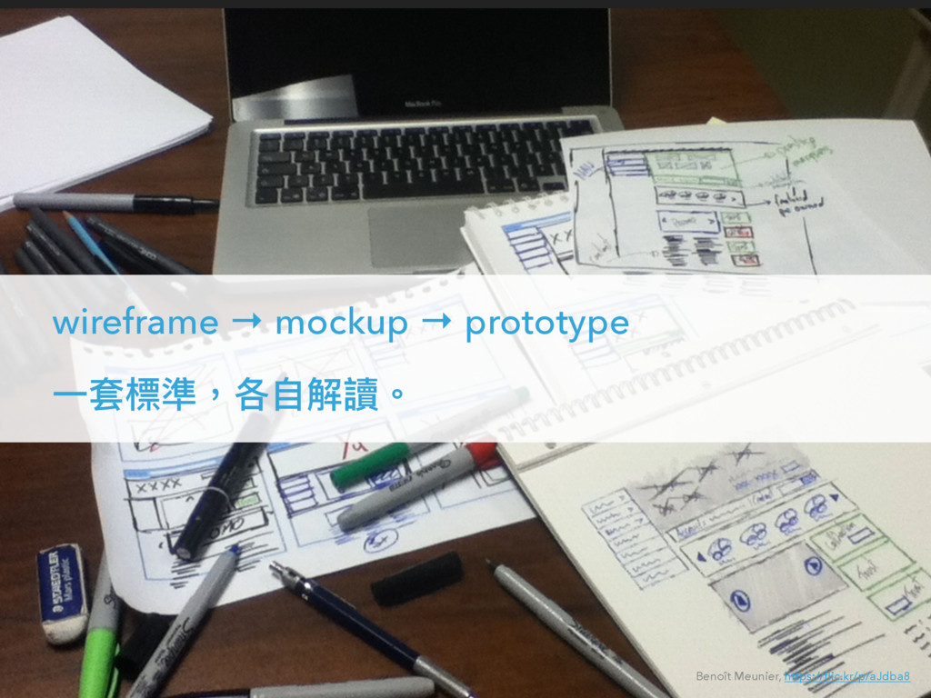 wireframe → mockup → prototype Ӟॺ秂伛牧ݱᛔ薹捝牐 Benoî...