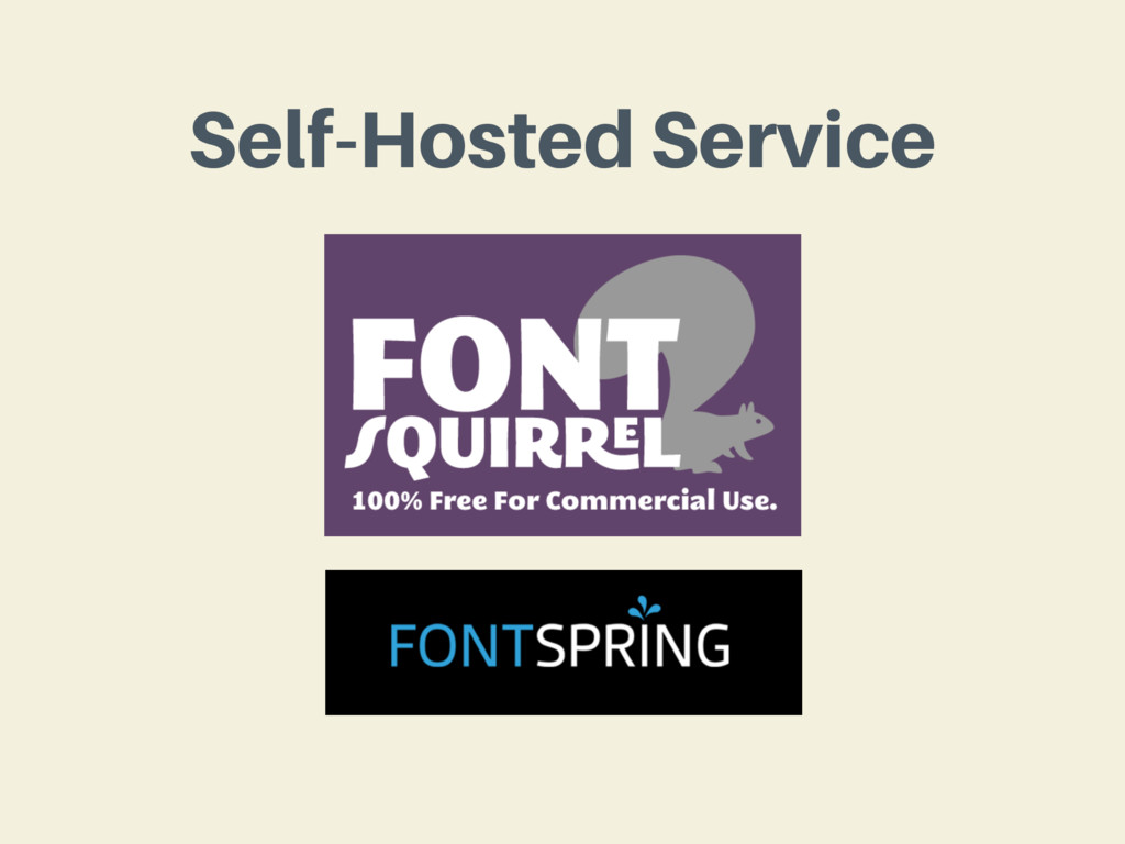 Self-Hosted Service