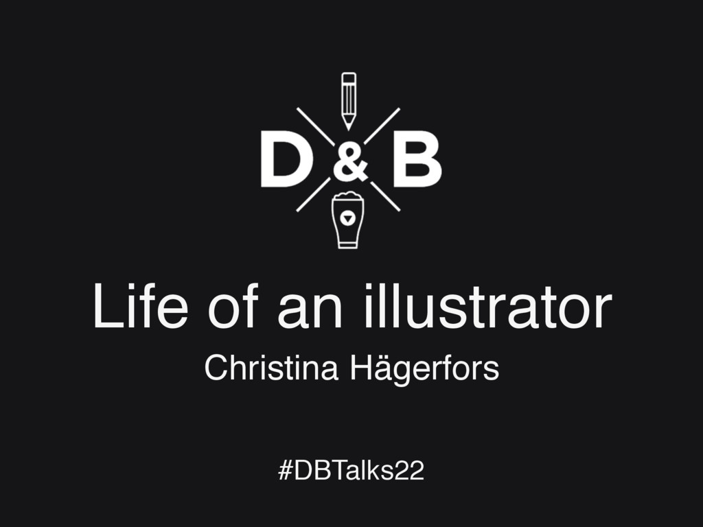 Life of an illustrator Christina Hägerfors #DBT...