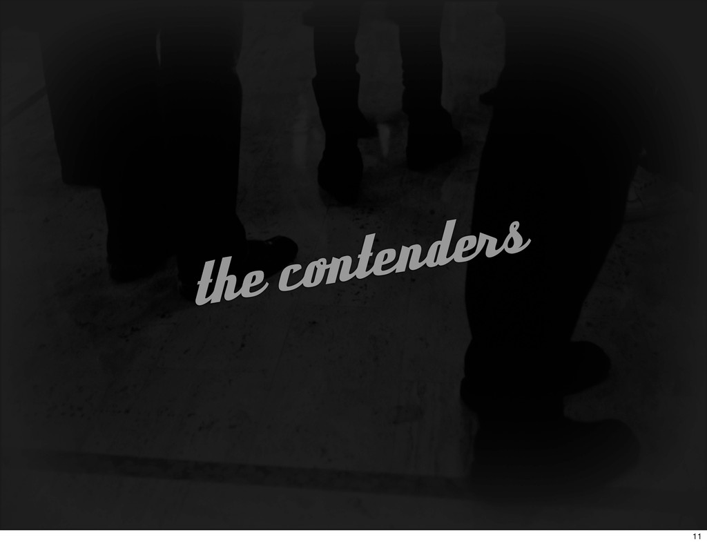 the contenders 11