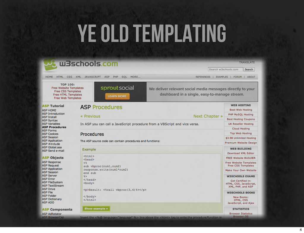 ye old templating 4