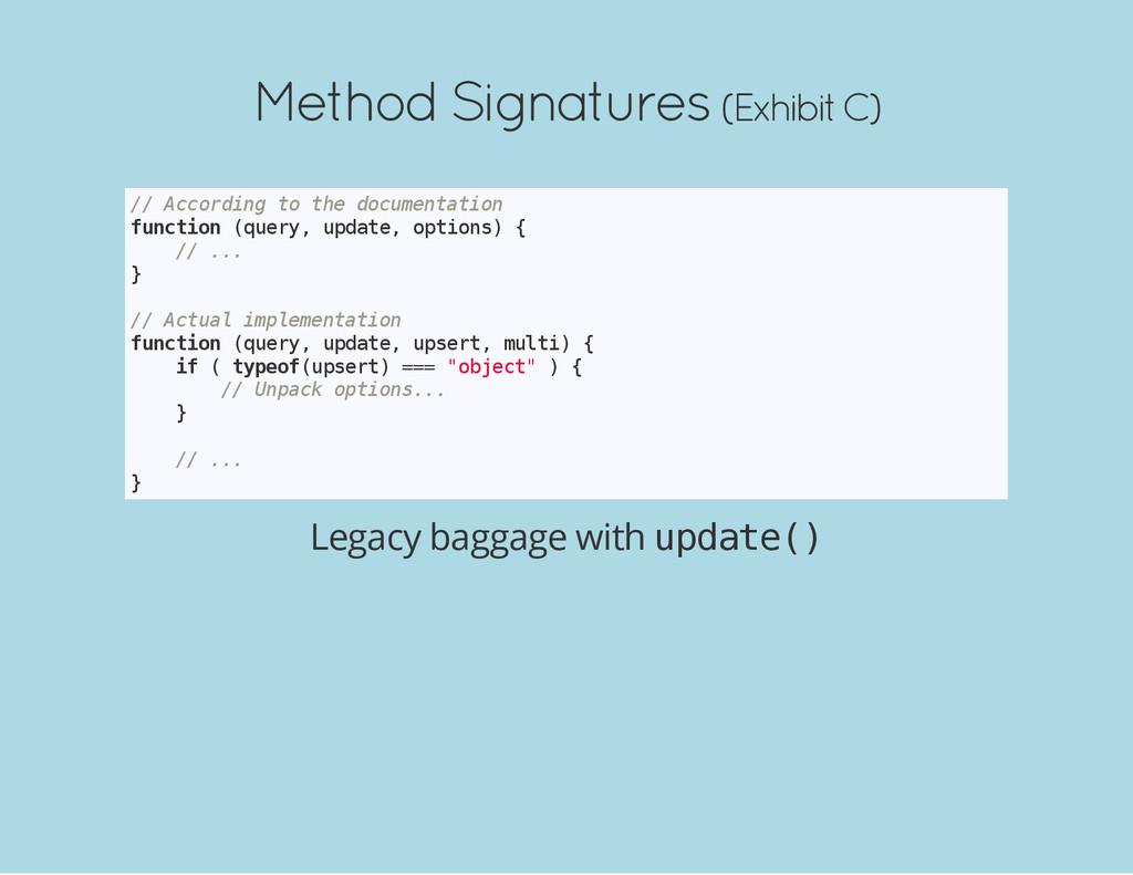 Method Signatures (Exhibit C) / / A c c o r d i...