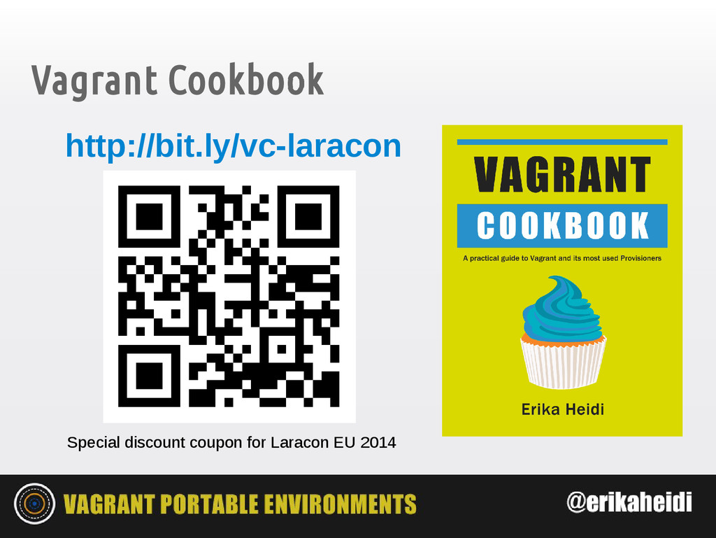 Vagrant Cookbook Special discount coupon for La...