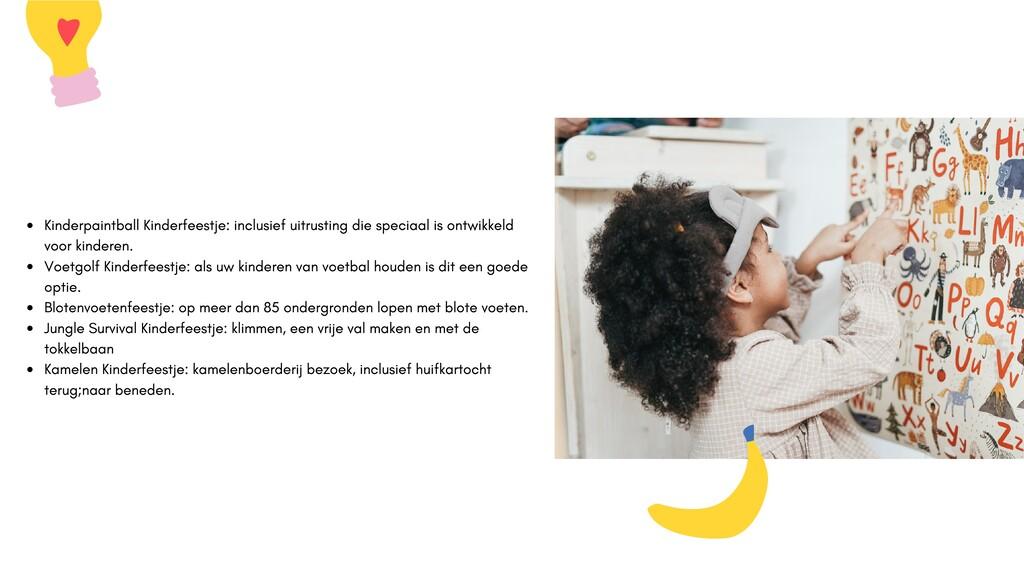Kinderpaintball Kinderfeestje: inclusief uitrus...