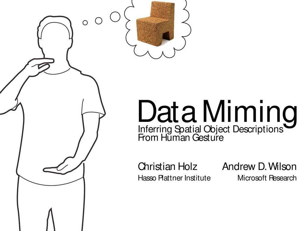 Data Miming Inferring Spatial Object Descriptio...