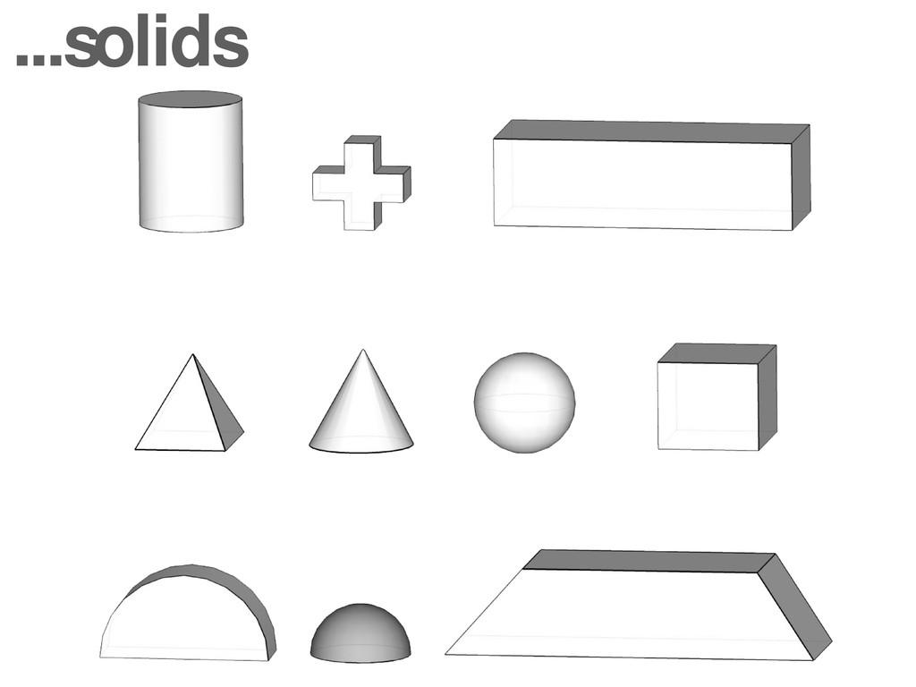 ...solids