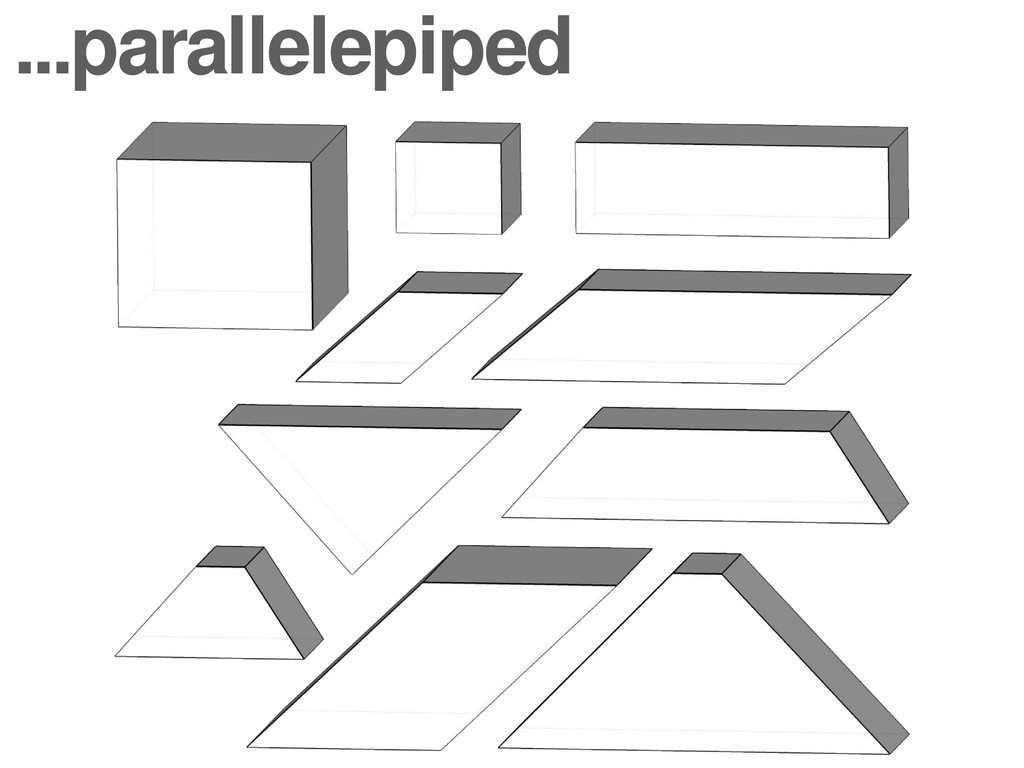 ...parallelepiped