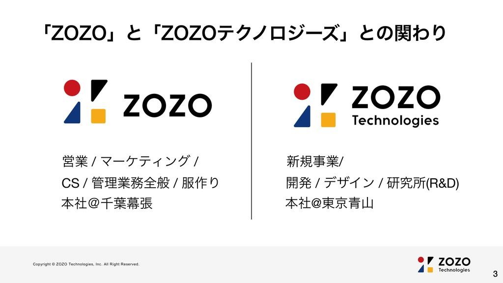 Copyright © ZOZO Technologies, Inc. All Right R...