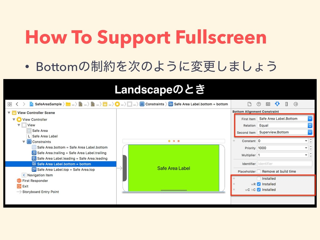 How To Support Fullscreen API Roadmap • Bottomͷ...
