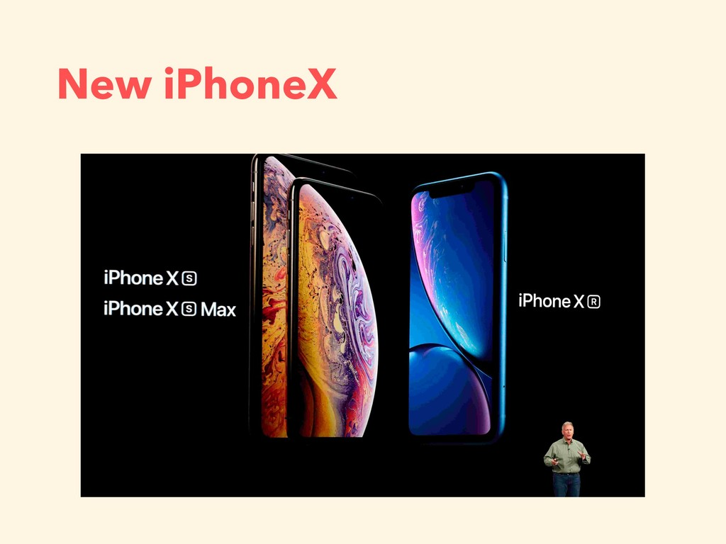 New iPhoneX