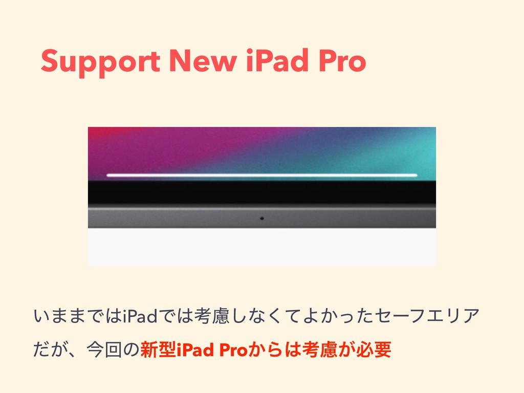 Support New iPad Pro ͍··ͰiPadͰߟྀ͠ͳͯ͘Α͔ͬͨηʔϑΤϦ...