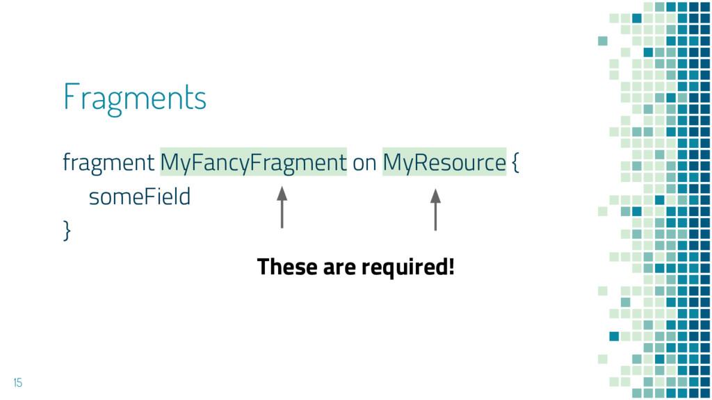 Fragments fragment MyFancyFragment on MyResourc...