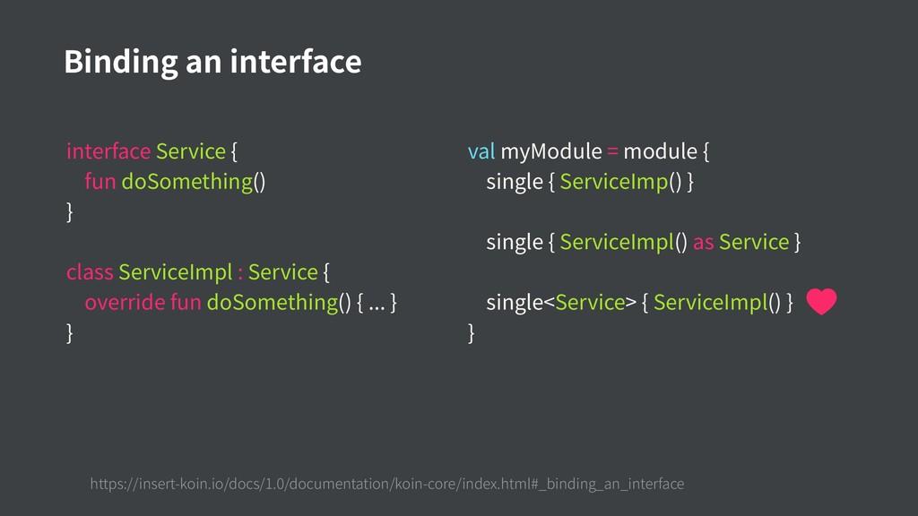interface Service { fun doSomething() } class S...