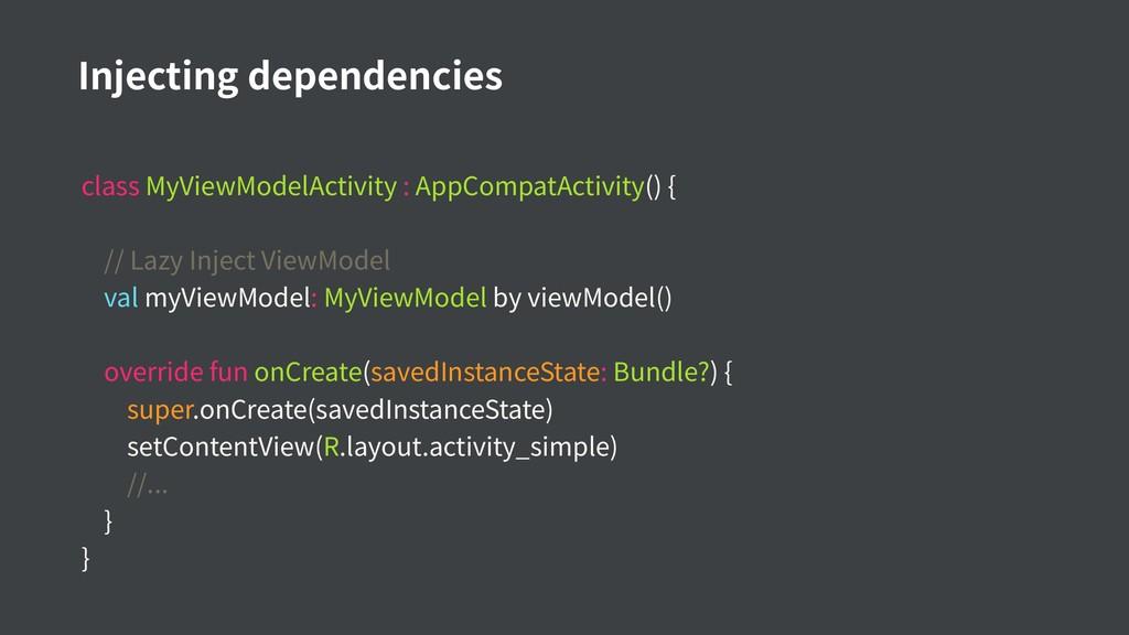 class MyViewModelActivity : AppCompatActivity()...