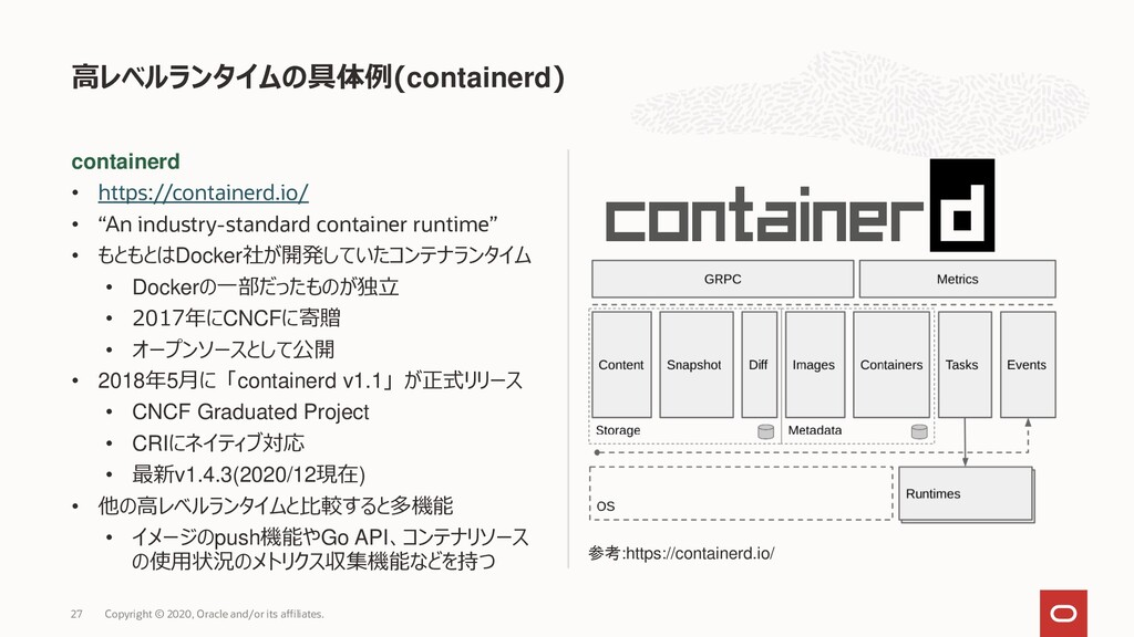 "containerd • https://containerd.io/ • ""An indus..."