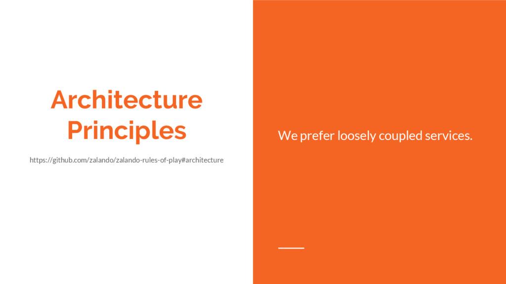 Architecture Principles https://github.com/zala...