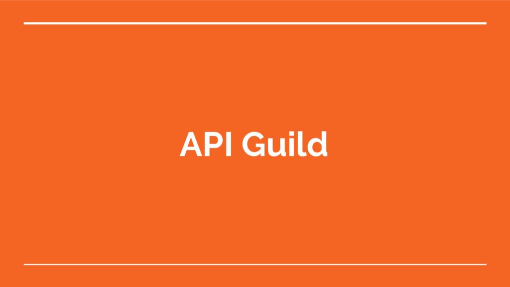 API Guild