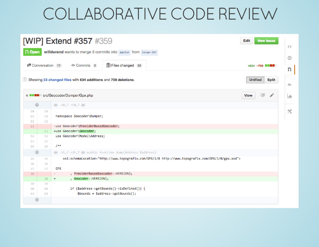 COLLABORATIVE CODE REVIEW
