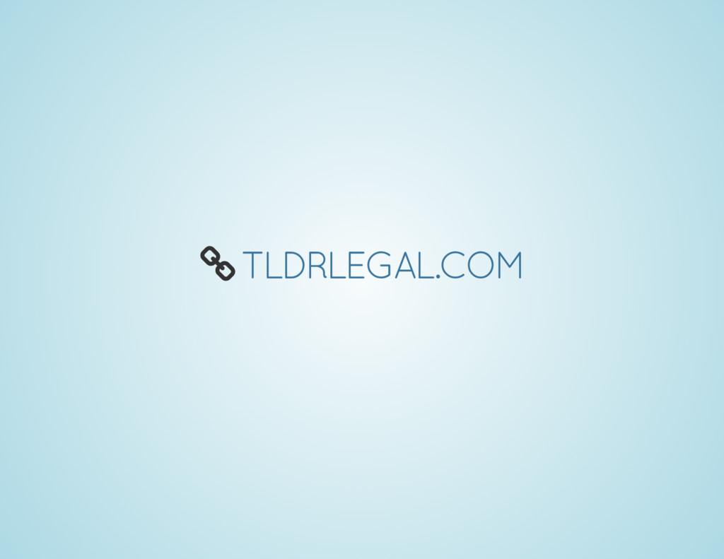 Å TLDRLEGAL.COM