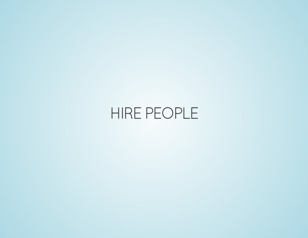 HIRE PEOPLE